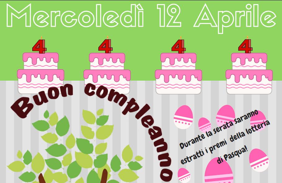 Buon Compleanno Albero… Festeggiamolo insieme!